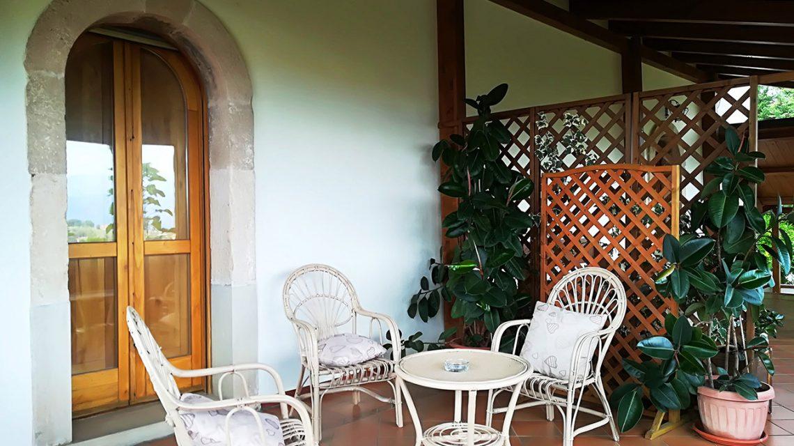 Camera Mandala: veranda panoramica