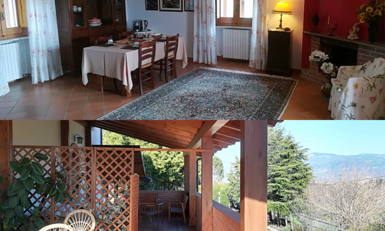 Salone e veranda